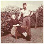 Froodtje Zuidema - Krol met zoon Hendrik [foto Oud Kollumerzwaag / Gabe Douma]