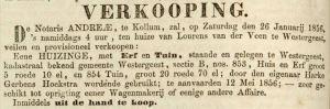 Leeuwarder Courant, 18 januari 1856